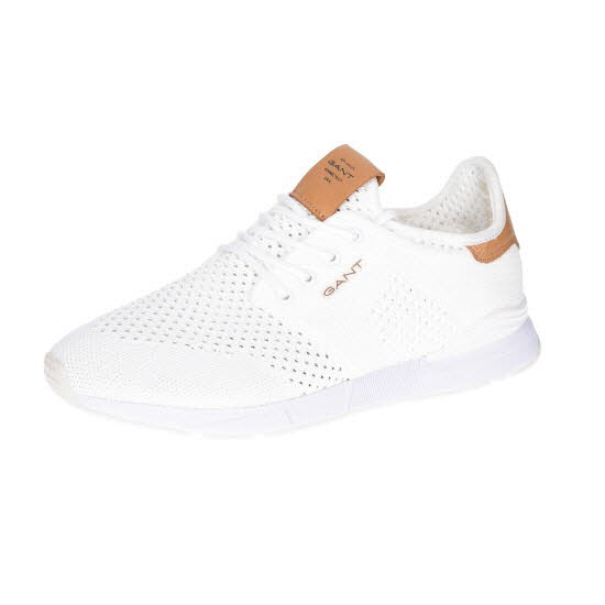 Gant Atlanta Knit+Leather G29 White - Bild 1