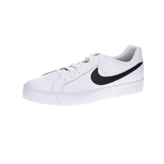 Nike COURT ROYALE AC,WHITE/BLACK - Bild 1